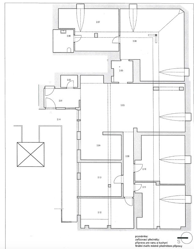 Dva velké byty s možností propojení