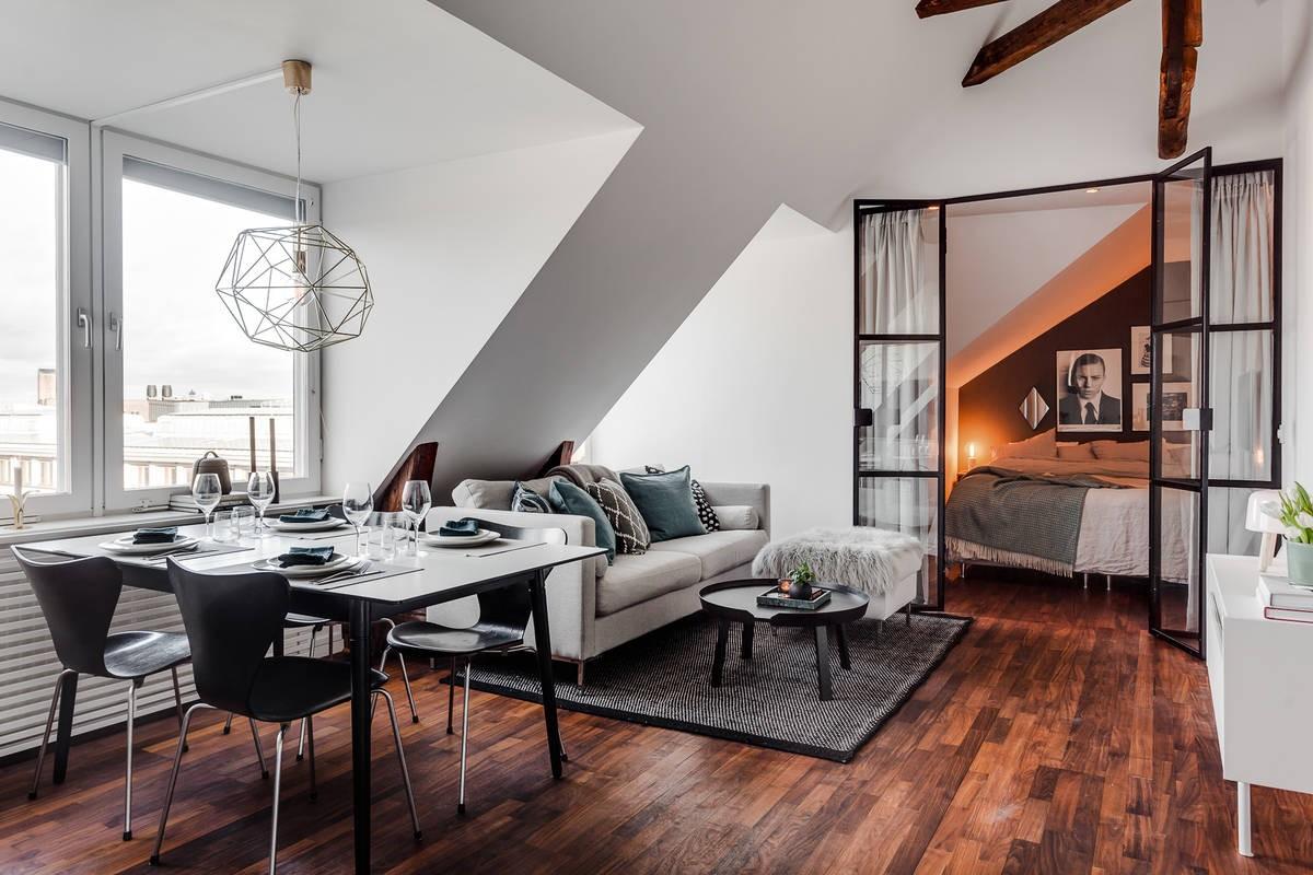 Exkluzivní půdní byt s terasou