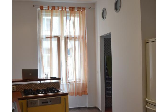 Světlý byt u parku Kampa