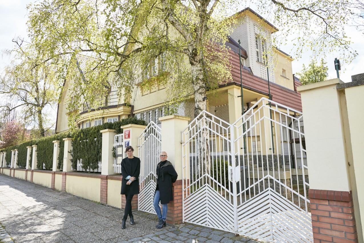 Prestižní sídlo ve vilové čtvrti Prahy 6